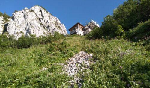 Artikelbild zu Artikel Tages-Gäste auf der Tegernseer Hütte willkommen